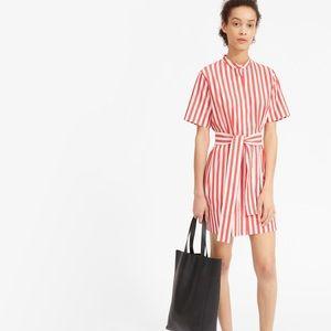 Everlane stripe dress